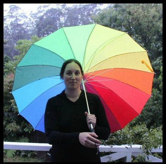 Rainbow Umbrella (8 pics)