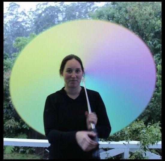 Rainbow Umbrella (8 pics)
