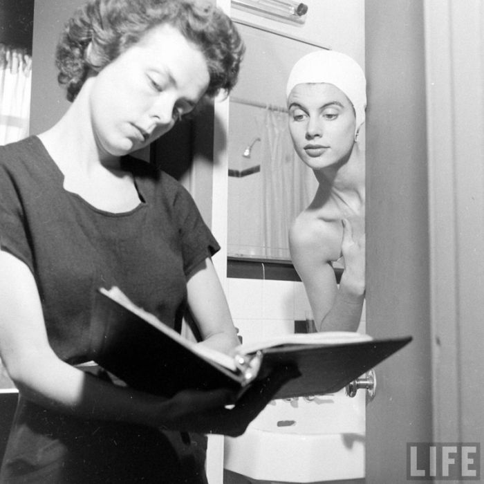 Model Agency in 1948 (24 pics)