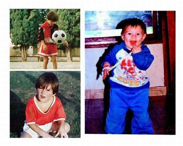 Soccer Stars In Childhood and Now (50 pics)