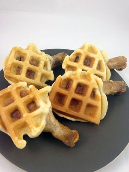 How to Cook Chicken and Waffle Wings (5 pics)