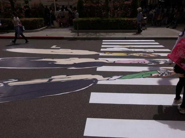 Peanuts do Abbey Road (2 pics)