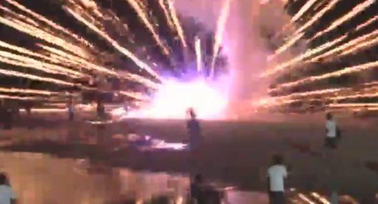 Epic Firework Fail