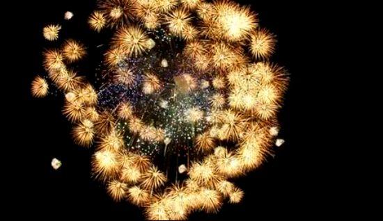 Giant Japanese Firework