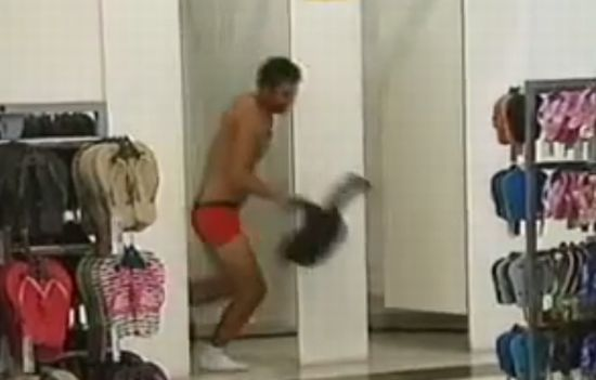 Hilarious Prank in Changing Room