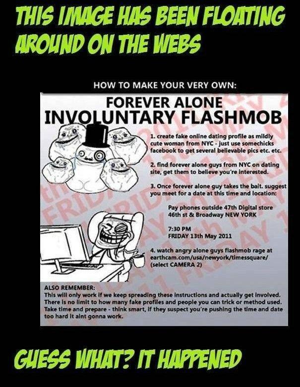 Forever Alone Prank Flash Mob (13 pics)