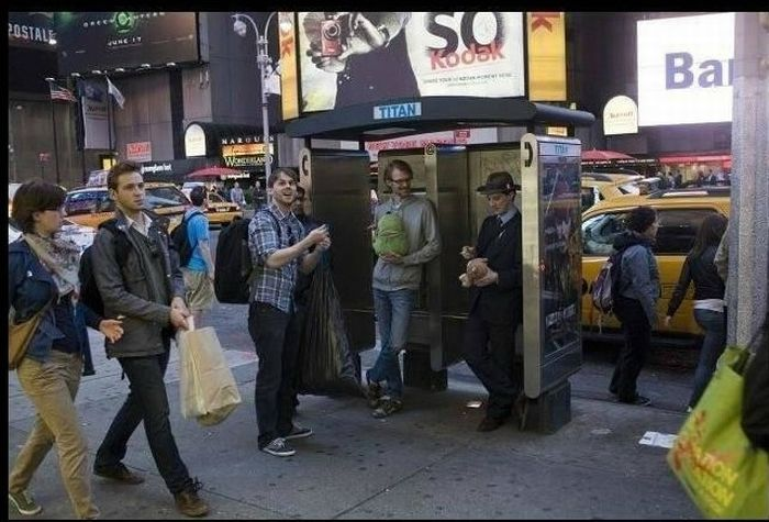 Forever Alone Prank Flash Mob (13 pics)