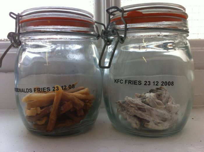 3 Year Old McDonalds Fries (2 pics)