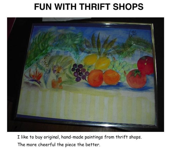 Fun With Thrift Shops (3 pics)