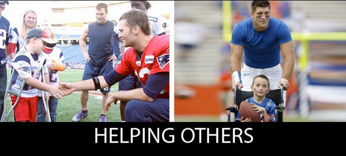Tom Brady Vs. Tim Tebow (22 pics)