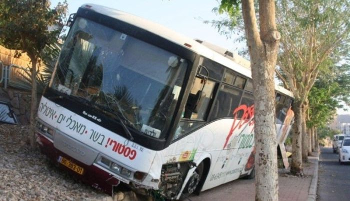 Bus Accident in Israel (5 pics)