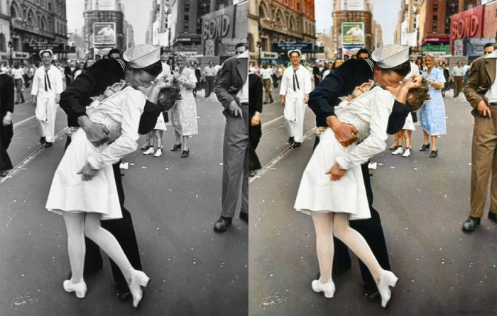 Classic Black and White Photos in Color (33 pics)