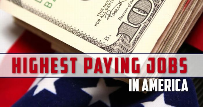 Top 10 Highest Paid Jobs of 2011 in the USA (10 pics)