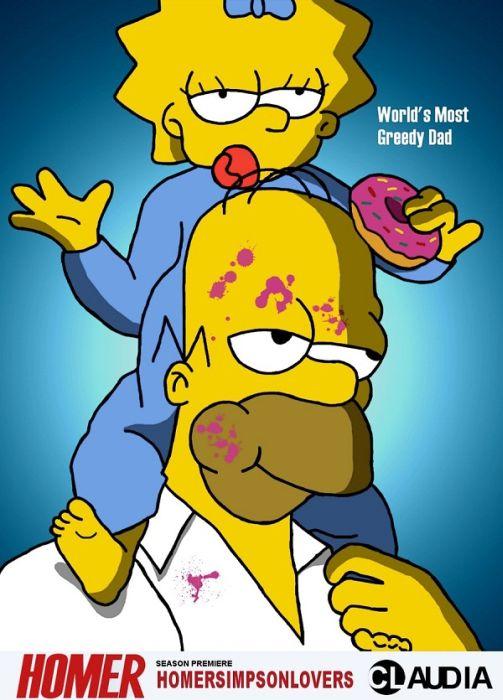 Movie Poster Parodies Featuring Simpsons (21 pics)