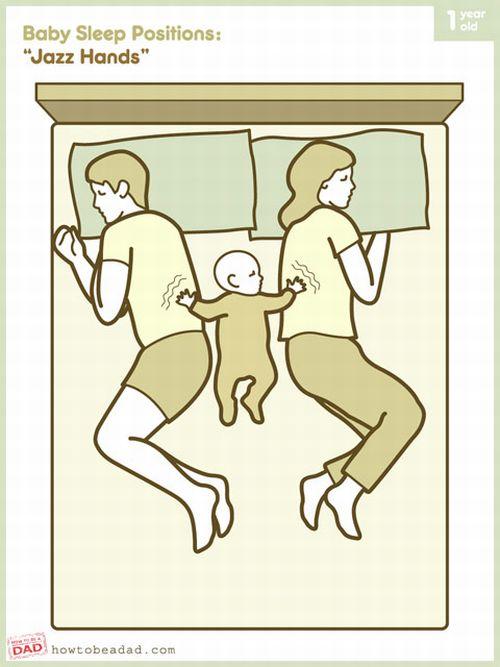 Baby Sleep Positions (8 pics)