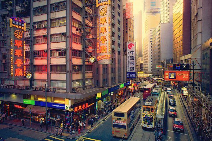 IR Photos of Hong Kong (49 pics)