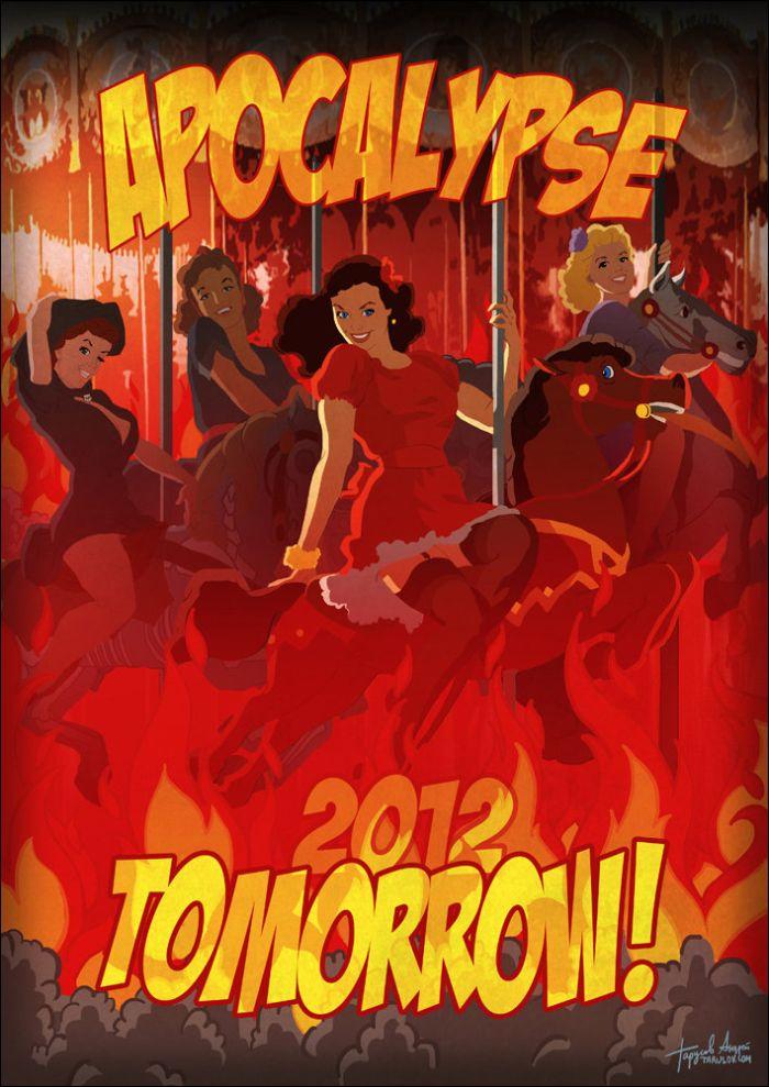 2012 Pinup Calendar (13 pics)
