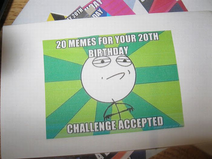 20th Birthday Surprise (6 pics)