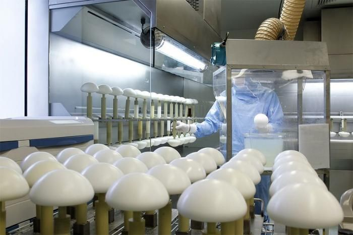 Breast Implants Production (14 pics)