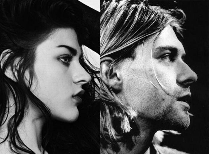 Kurt Cobain and His Daughter Frances Bean (8 pics)