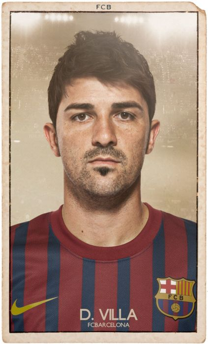 FC Barcelona Vintage Football Cards (19 pics)