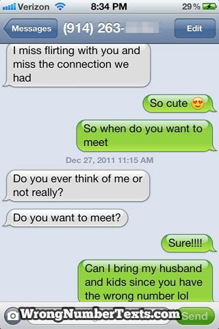 Wrong Number Texts (80 pics)