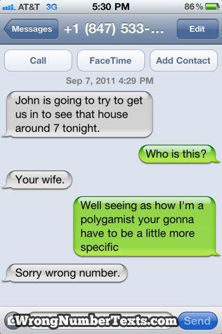 Wrong Number Texts (80 pics)