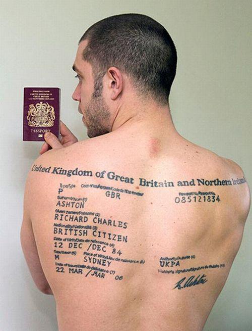 Pass Tattoo (2 pics)