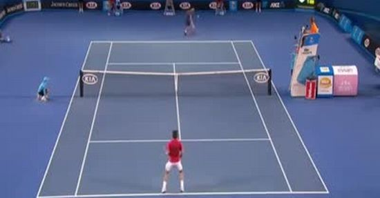 Epic Tennis Shot