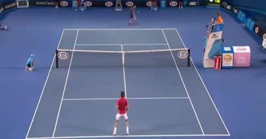Epic Tennis Shot