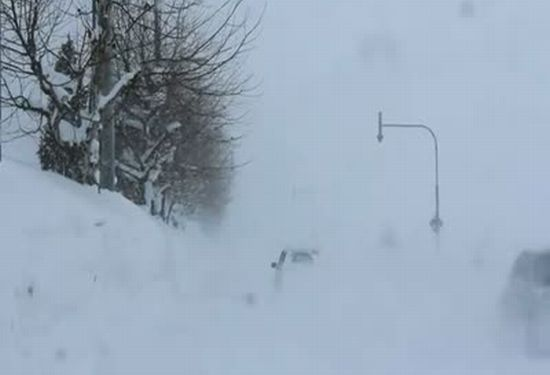 Incredible Snow Fall In Japan