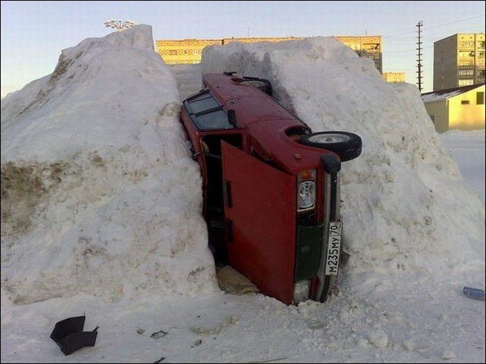 Winter Parking (2 pics)