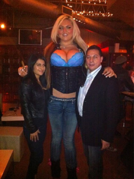 The Tallest Girls of the World. Part 2 (50 pics)