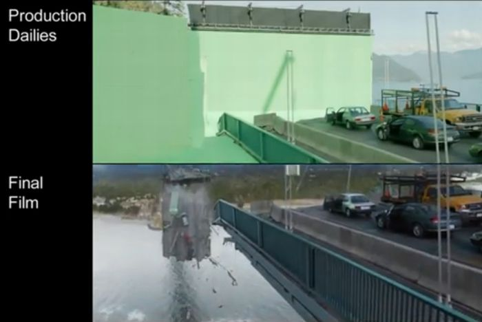 Final Destination 5 - Bridge Visual Effects (33 pics)