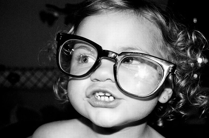 Babies Wearing Glasses (45 pics)
