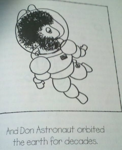 Don the Astronaut (12 pics)