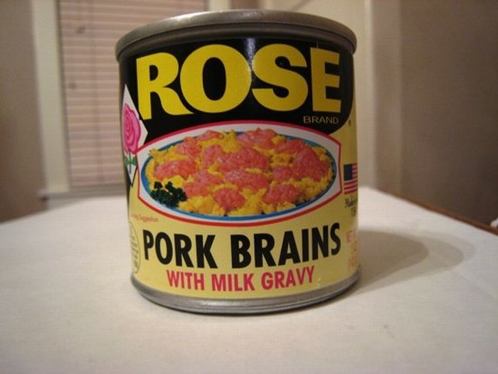 Pork Brains with Milk Gravy (4 pics)
