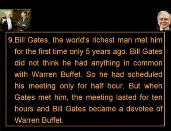 Pearls of Wisdom from Warren Buffett (11 pics)