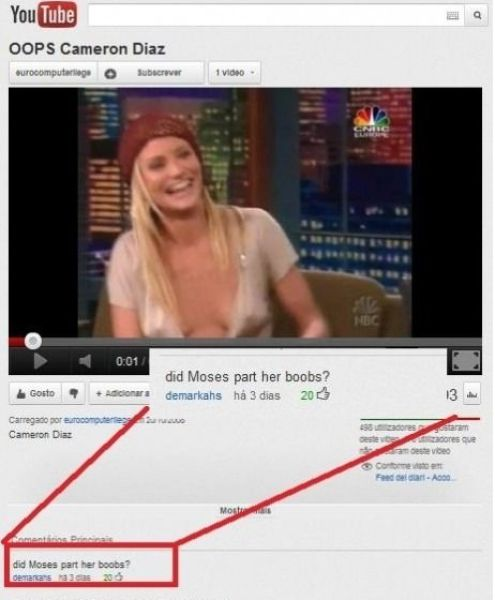 Funny Youtube Comments. Part 2 (19 pics + 2 gifs)