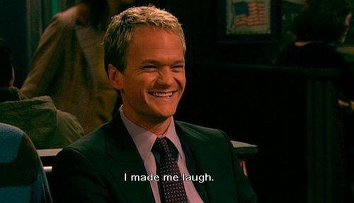 The Awesome Barney Stinson (25 pics + 4 gifs)