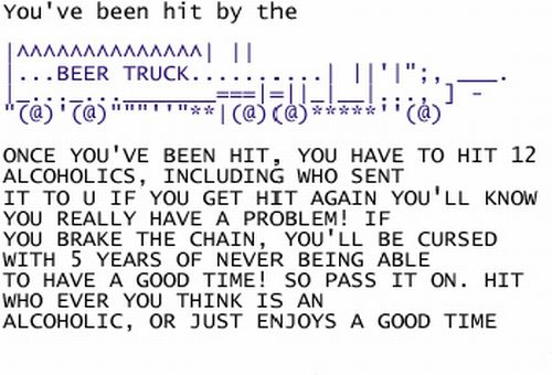 Chain E-Mails From 2004 (18 pics)
