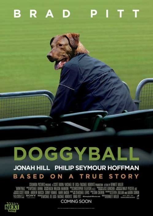 2012 Best Picture Nominees Recast With Dogs (9 pics)