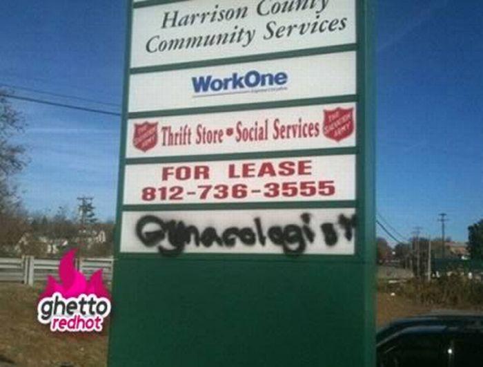 Ghetto Signs (12 pics)
