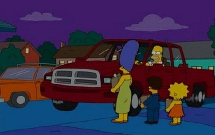 The Cars of The Simpsons (43 pics)