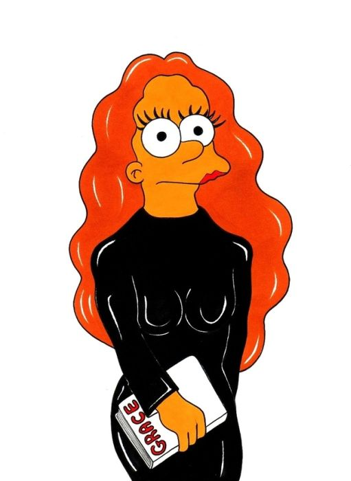 The Simpsons As Fashion Icons (12 pics)