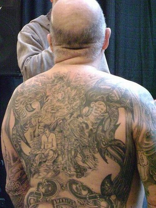 Old People with Tattoos (20 pics)