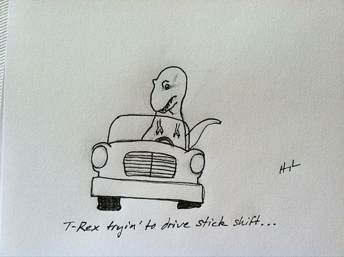 T-Rex Trying... (23 pics)