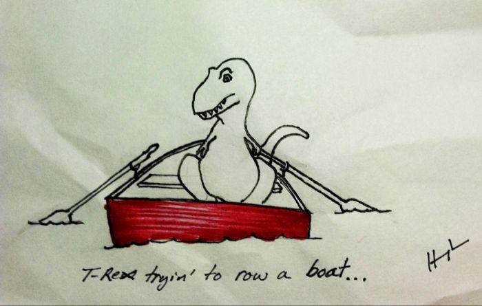 T-Rex Trying... (23 pics)