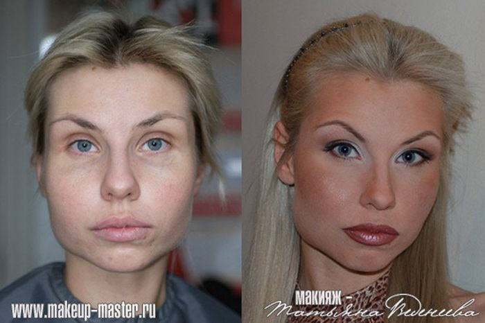 Russian Girls With And Without Makeup 42 Pics-9846