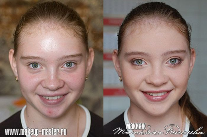 Russian Girls With And Without Makeup 42 Pics-6961